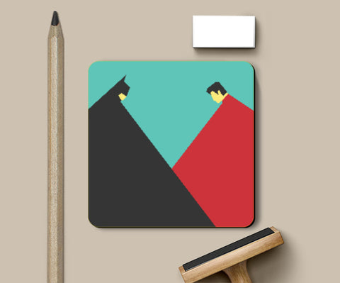 Coasters, Dawn of Justice Coaster | Kushagra Singh, - PosterGully