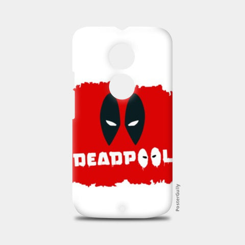 Moto X2 Cases, #deadpool Moto X2 Cases | Artist : Gaurav Keshri, - PosterGully