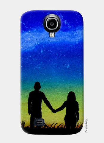 Sunset Love Painting Samsung S4 Cases | Artist : Rahul Tanwar