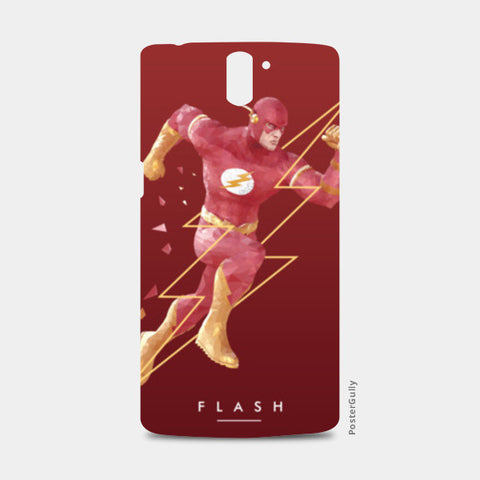 Red Flash One Plus One Cases | Artist : Siladityaa Sharma