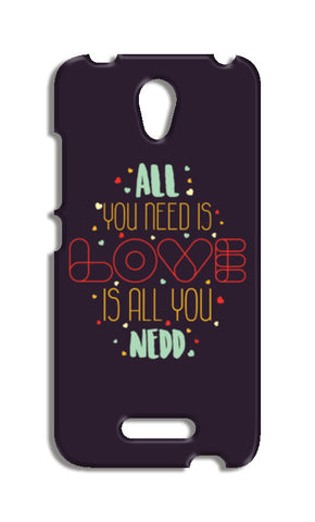 All you need is love is all you need Redmi Note 2 Cases | Artist : Designerchennai