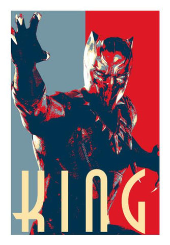 Black Panther: King Wall Art PosterGully Specials