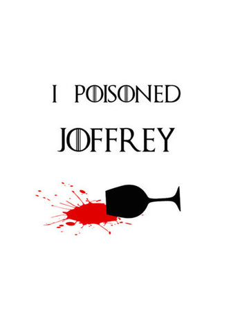 Game Of Thrones  Poisoned  Joffrey  Blood Art PosterGully Specials