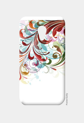 Moto G2 Cases, Floral Abstract Moto G2 Case | Artist : Gagandeep Singh, - PosterGully