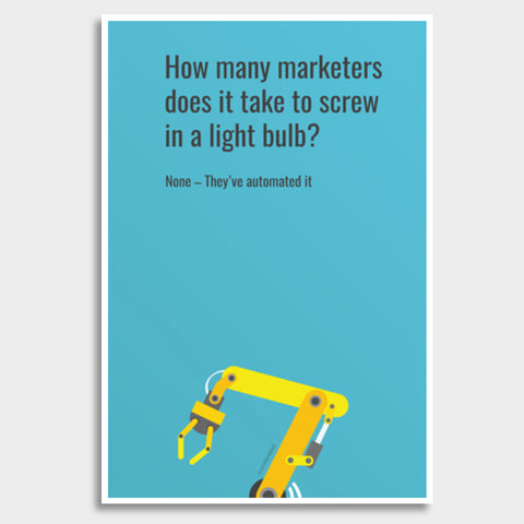 Marketers Giant Poster | Artist : Scatterred Partikles