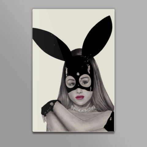 Dangerous Woman Metal Prints | Artist : Anniez Artwork