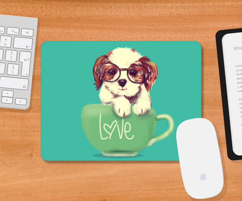 Mousepad, doggie Mousepad | Artist : abhijeet sinha, - PosterGully