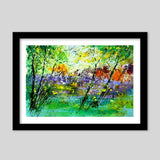 in the green Premium Italian Wooden Frames | Artist : pol ledent