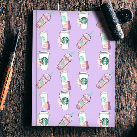 Starbucks Notebook | Artist : Priyanka Paul