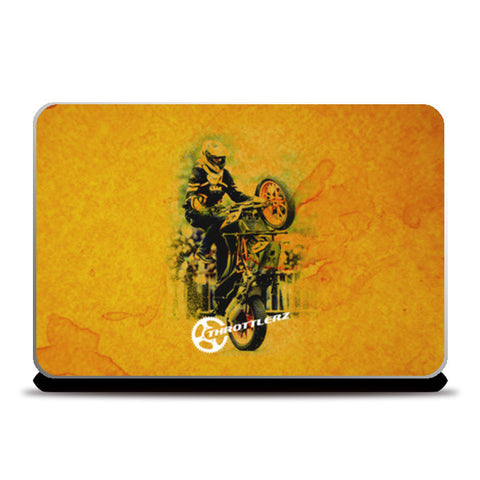 Laptop Skins, Stuntmania Laptop Skins | Artist : Throttlerz Group, - PosterGully