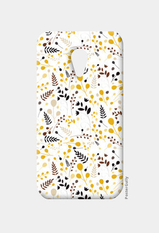 Floral seamless pattern on yellow Moto G2 Cases | Artist : Designerchennai