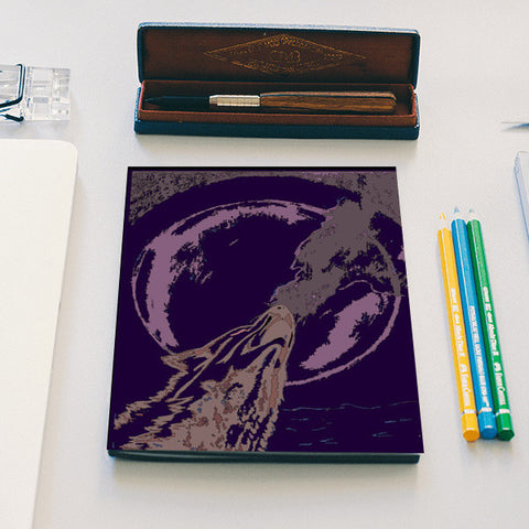Strive for the moon Notebook | Artist : Anshul Patria