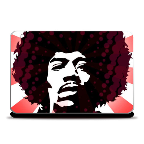 Laptop Skins, Jimi On Acid Laptop Skin | Artist: Athul Menon, - PosterGully