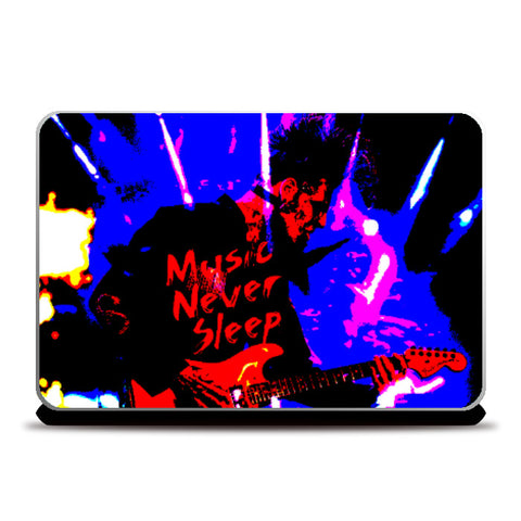 Laptop Skins, Music Never Sleep Laptop Skin | Boys Theory, - PosterGully