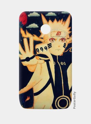 Moto E Cases, Naruto-Blood moon | Artist:Abhilash Katta, - PosterGully
