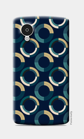 Fashionable 3d circle pattern Nexus 5 Cases | Artist : Designerchennai