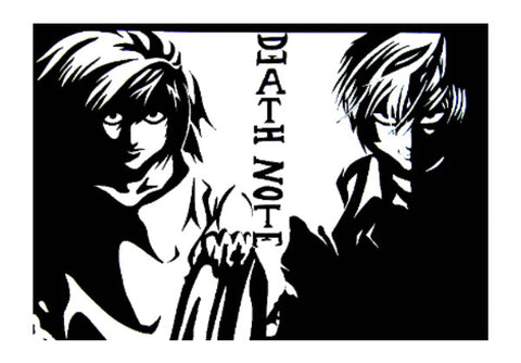 Wall Art, Death Note Wall Art | Artist : Aastha, - PosterGully