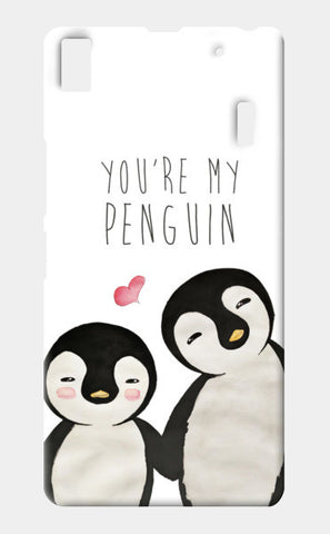You're My Penguin | Artist: Aparna Singh Lenovo A7000 Cases | Artist : Aparna Singh