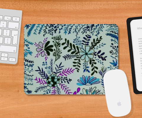 flower for soul Mousepad | Artist : Purvisha Sharma