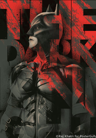 Wall Art, The Dark Knight By Raj, - PosterGully