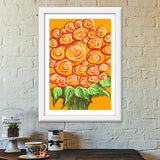 Premium Italian Wooden Frames, Swirls and flowers ! Premium Italian Wooden Frames | Artist : Shakthi Hari, - PosterGully - 6