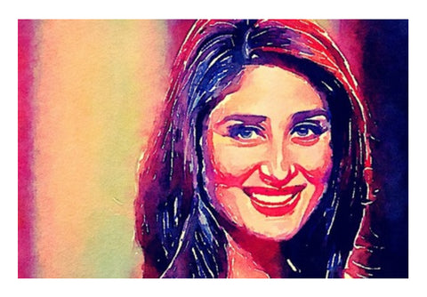 Kareena Kapoor Wall Art  | Artist : Delusion