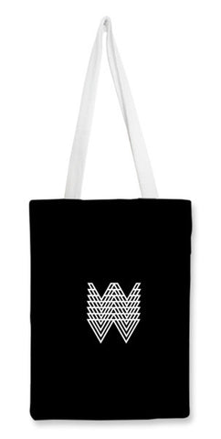 Abstract W Tote Bag Tote Bags | Artist : Vedant Sharma