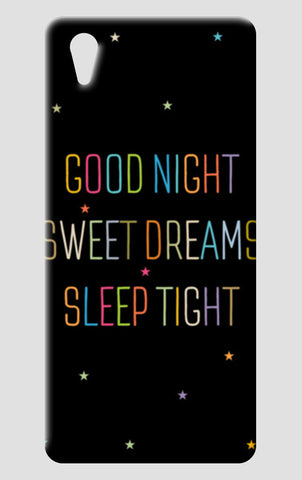 Good Night Sweet Dreams Sleep Tight One Plus X Cases | Artist : Designerchennai
