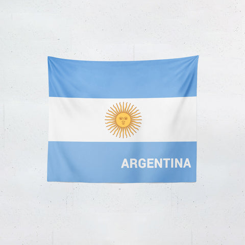 Argentina Flag Tapestries | #Footballfan