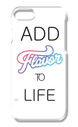 Life Quote iPhone 7 Cases | Artist : naveen panwar