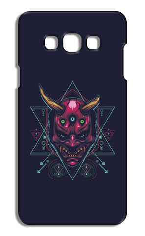 The Mask Samsung Galaxy A7 Cases | Artist : Inderpreet Singh