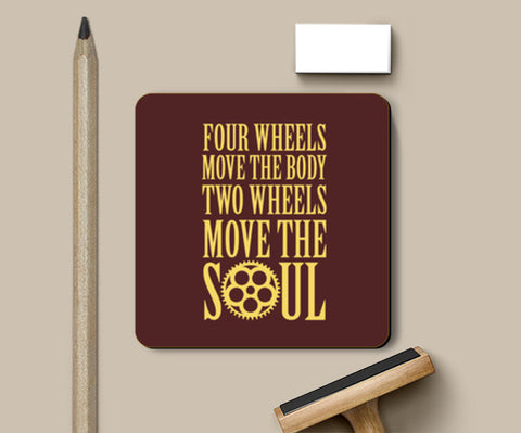 Coasters, Move the Soul Coasters | Artist : Throttlerz Group, - PosterGully