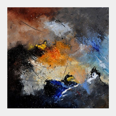 abstract 662126 Square Art Prints | Artist : pol ledent