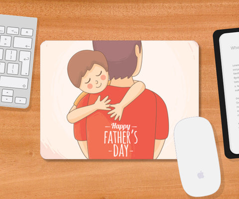Father Holding Son Father's Day | #Father's Day Special   Mousepad | Artist : Creative DJ