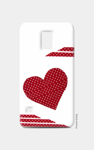 Samsung S5 Cases, Dotted Heart Samsung S5 Case I Artist: Seema Hooda, - PosterGully