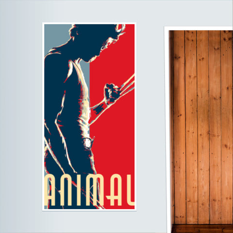 Wolverine : Animal Door Poster | Artist : LinearMan