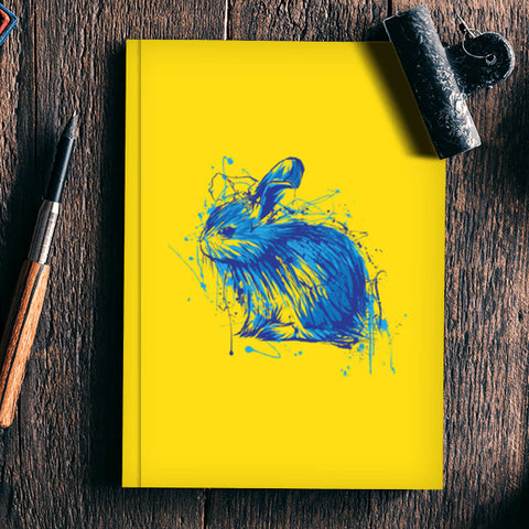 Rabbit Notebook | Artist : Inderpreet Singh