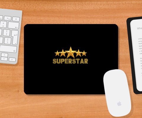 Mousepad, Superstar 1 Mousepad | Artist : DJ Ravish, - PosterGully