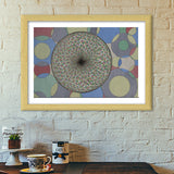 Abstract Design Premium Italian Wooden Frames | Artist : Pranita Bajoria