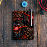 Dancing with colors Notebook | Artist : Karthik Gowrisankar
