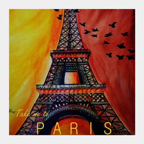 Square Art Prints, ParisLove Square Art | Artist : Chahat Suri, - PosterGully