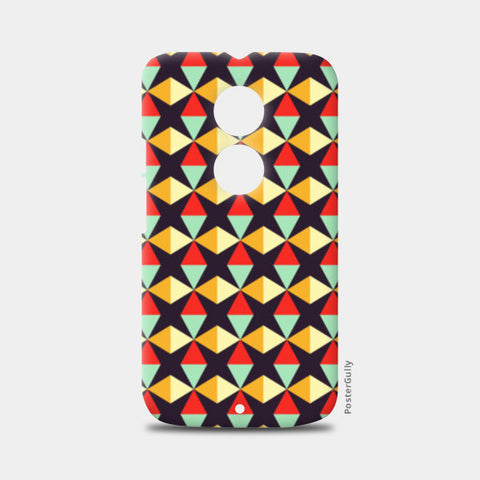 Geometric triangle subtle pattern Moto X2 Cases | Artist : Designerchennai