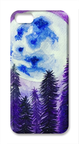 Moon Lit  iPhone SE Cases | Artist : Akshita Shah