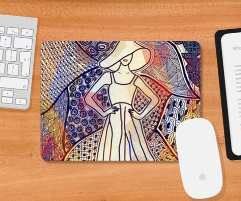 Mousepad, Fashion Mouse Pad Mousepad | Artist : Navya Rao, - PosterGully