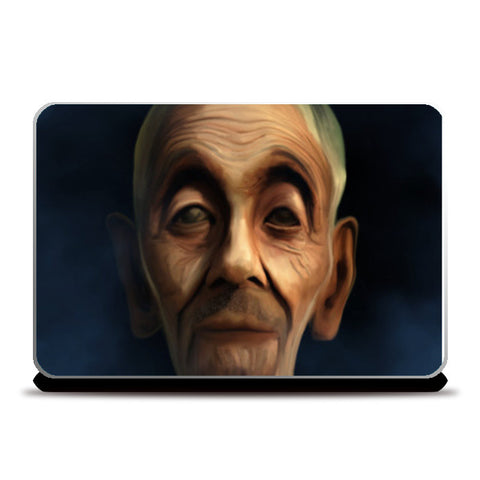 Laptop Skins, old man Laptop Skins | Artist : Jayant Rana, - PosterGully