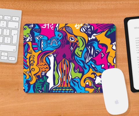 Mousepad, ADBHUT Mousepad | Artist : Wandering Homie, - PosterGully