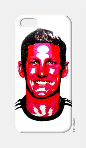 iPhone 5 Cases, Bastian Schweinsteiger iPhone 5 Case by Kislaya Sinha, - PosterGully
