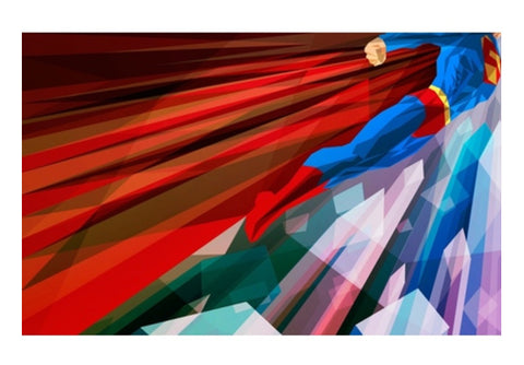 superman abstract Wall Art  | Artist : akash biyani