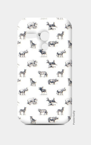 Safari Animal Moto G Cases | Artist : Dinesh kumar