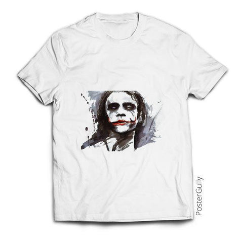 T Shirts, Joker  Ink art | Artist: Prajwal Acharya, - PosterGully - 1